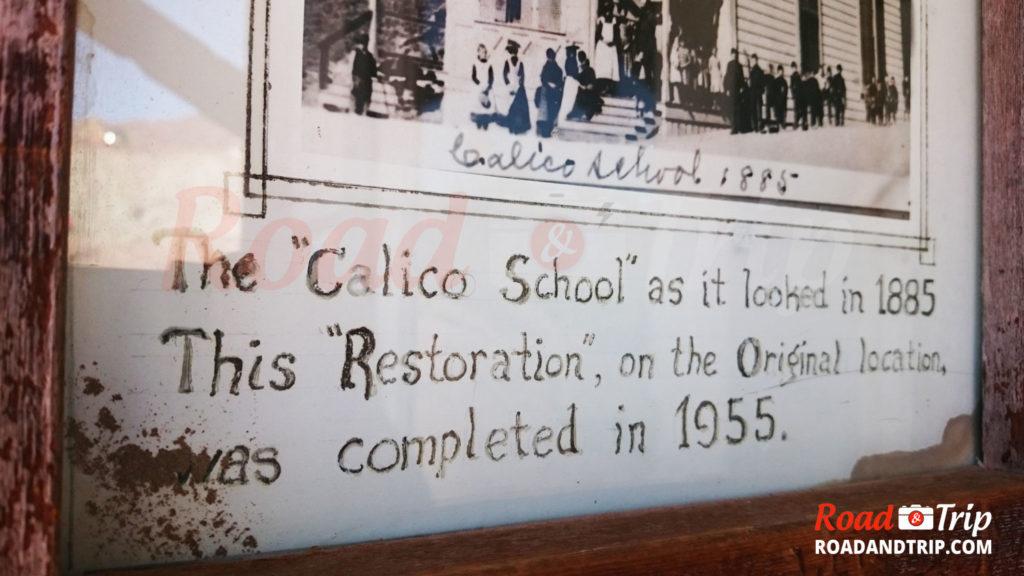 L'école date de 1885