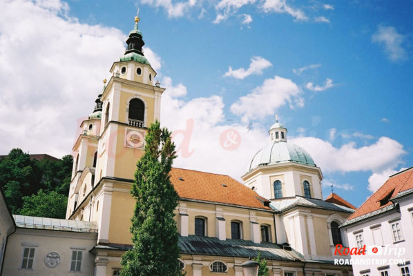 La Cathédrale Saint-Nicolas de Ljubljana