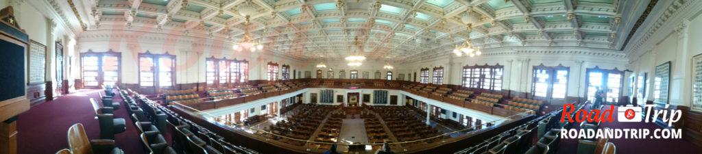 La Chambre des Sénateurs à Austin