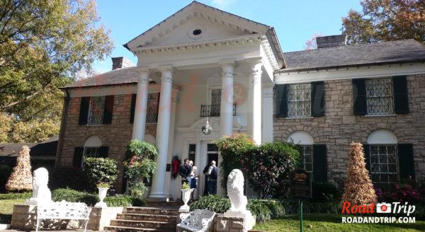 La maison de Elvis à Graceland