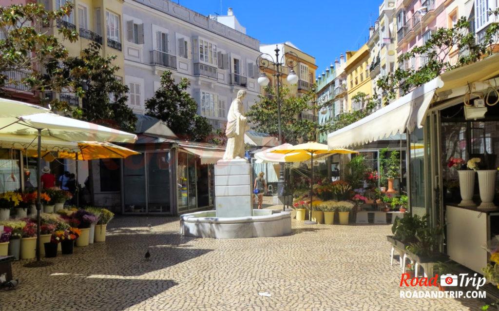 La plaza Flores