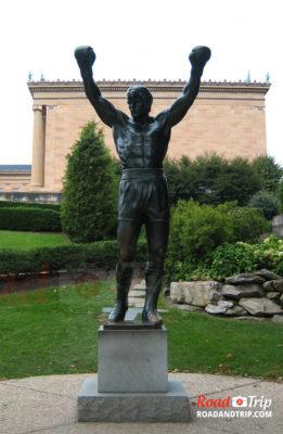 La statue de Rocky Balboa