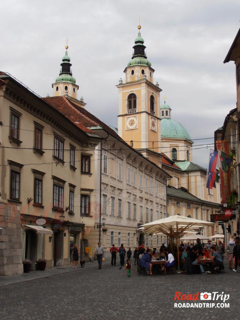 La ville de Ljubljana