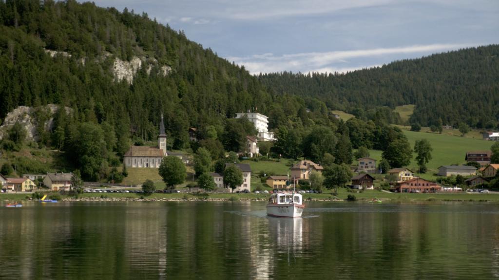 Lac de Joux en Suisse