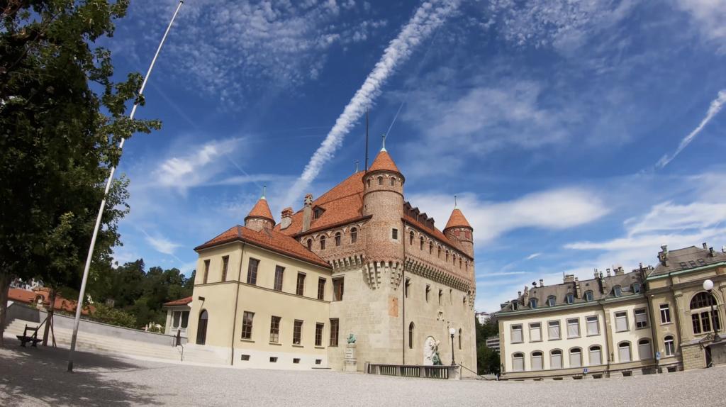 Le Château Saint Maire à Lausanne