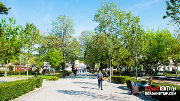 Le Jardin Luís de Camões et son environnement