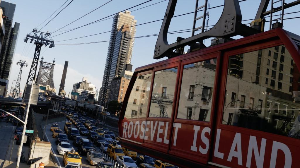 Le Roosevelt Island à Manhattan