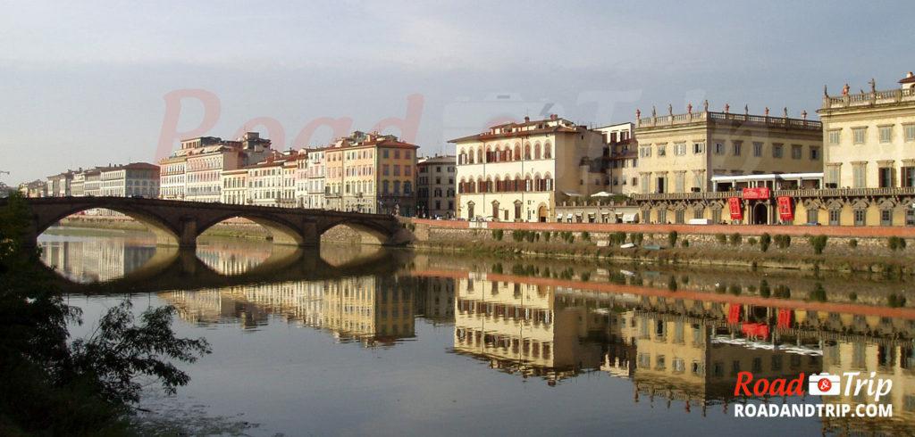 Le-fleuve-Arno-à-Florence