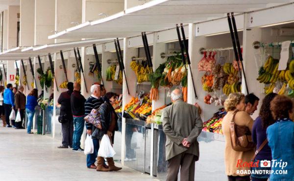 Le marché couvert de Cadix