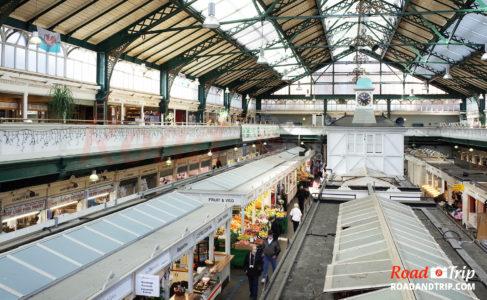 Le marché de Cardiff