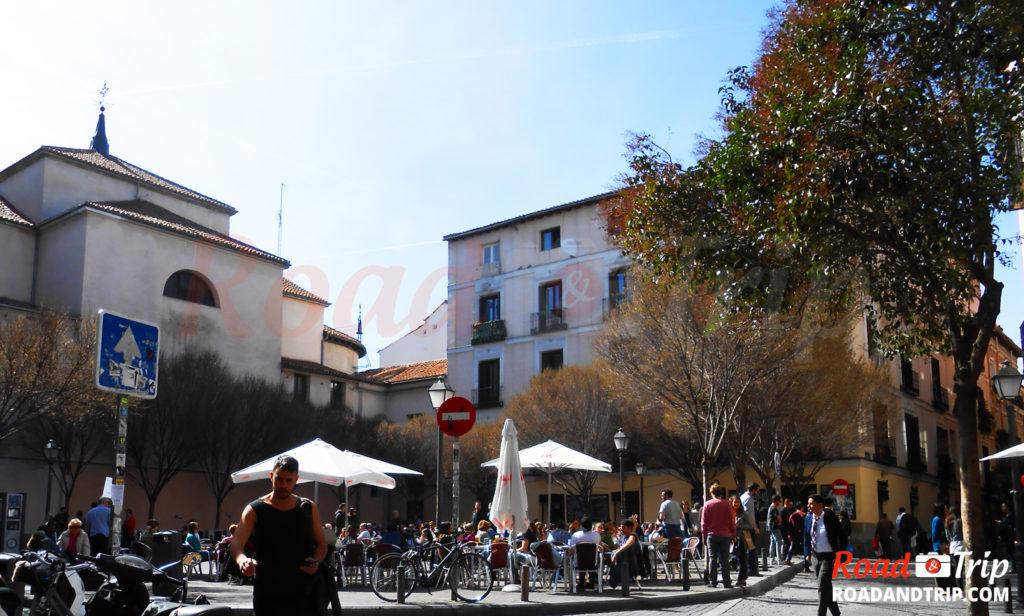 Le marché de San Ildefonso