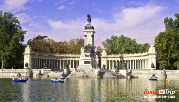 Le parc du Retiro à Madrid