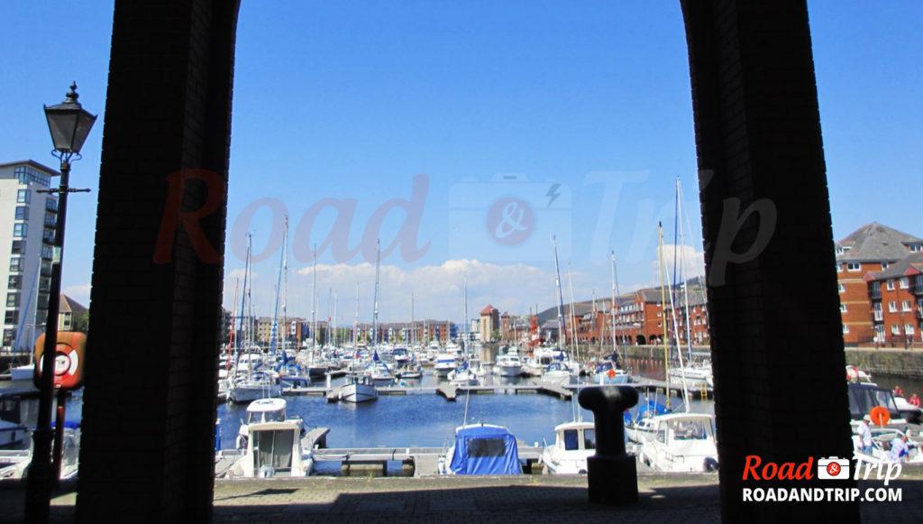 Le port de Swansea