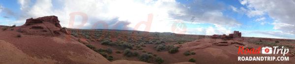 Le sentier de Wukoki Pueblo