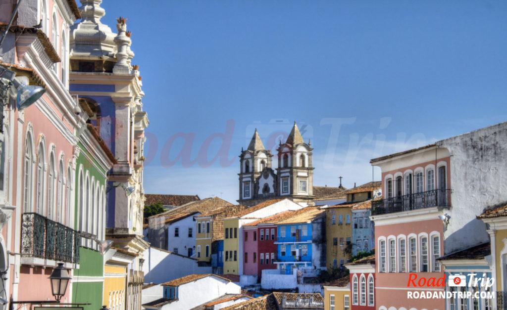 Le vieux centre historique de Braga
