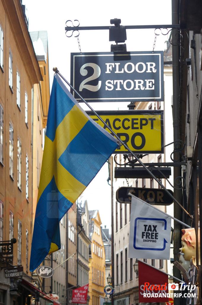 Les boutiques dans Stockholm