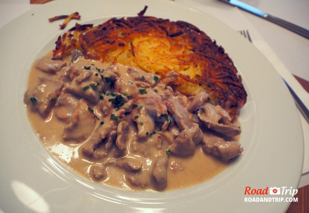 Les fameux Rosti de Zurich