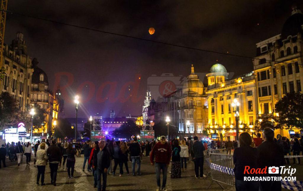 Les festivités à Porto