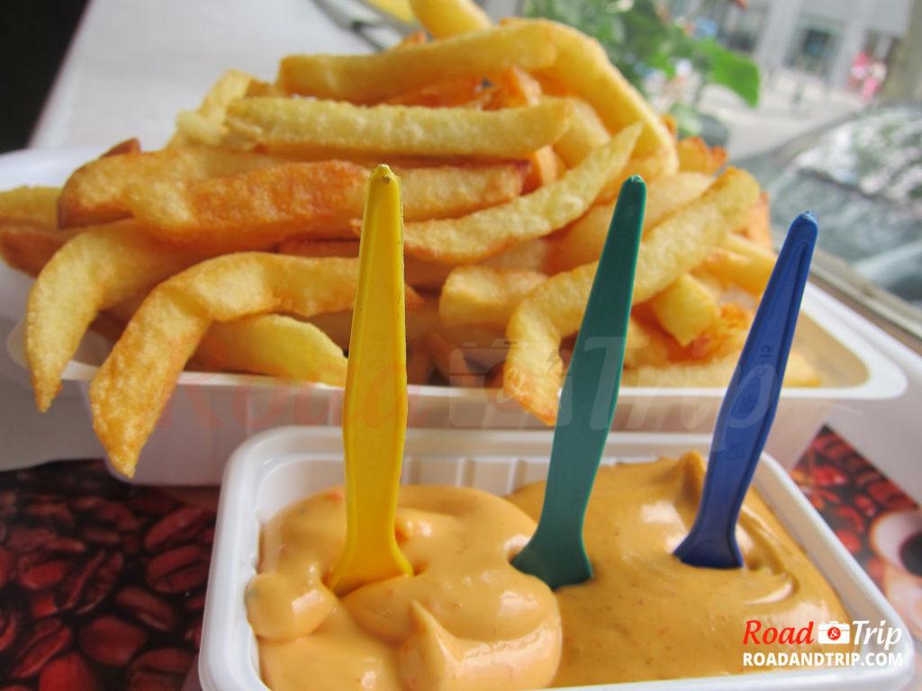 Les frites belges