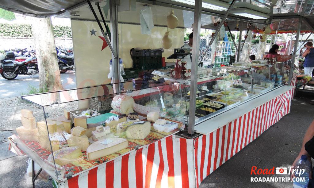 Les fromages du marché