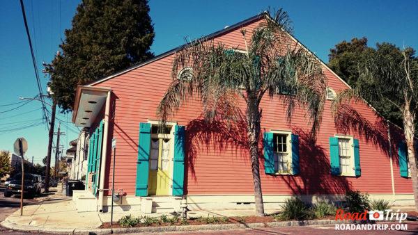 Les maisons colorées de la Nouvelle-Orléans