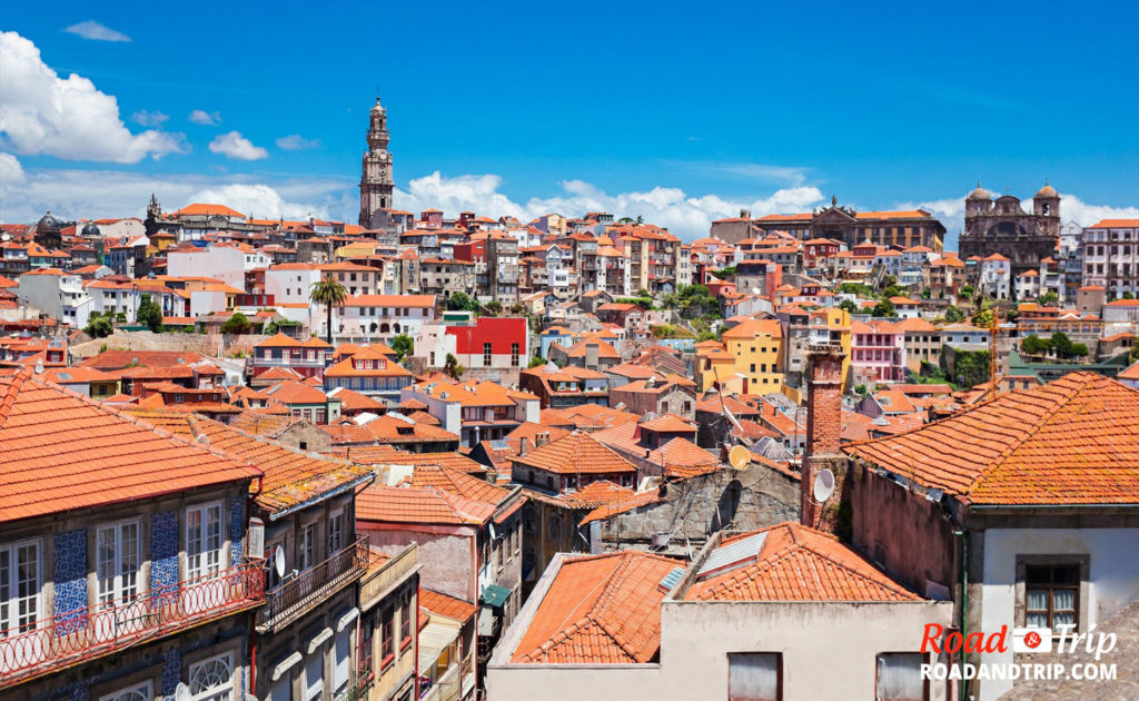 Les monuments de Porto et son vieux centre historique