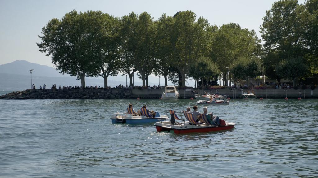Les rives du Léman à Lausanne