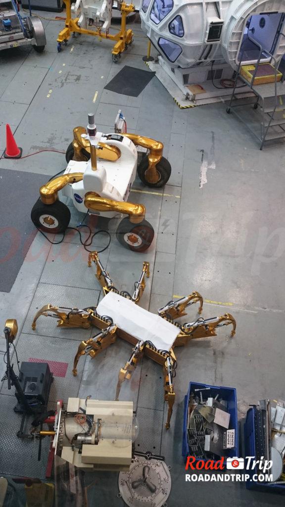 Les robots de la NASA