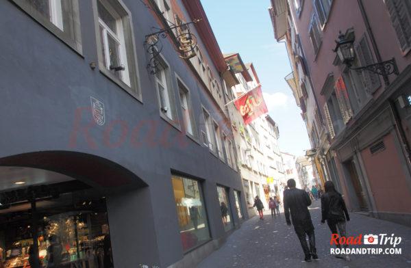 Les ruelles de Zurich