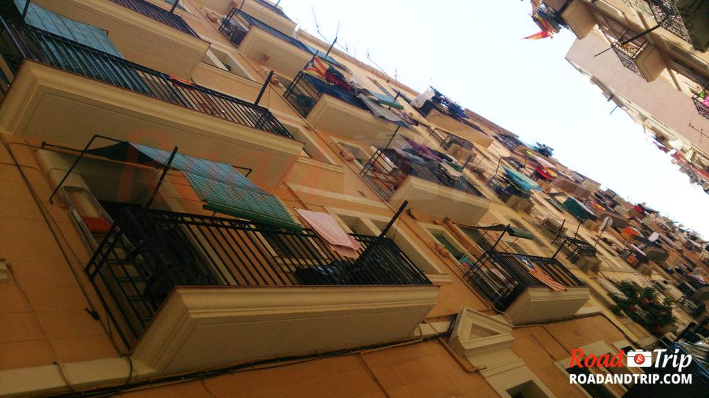 Les rues typiques de Barcelone