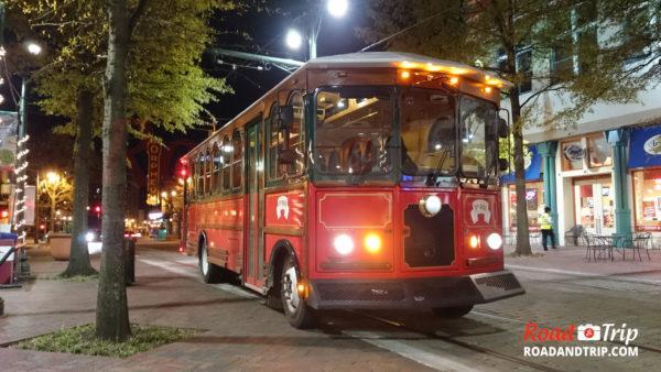 Les trolleys à Memphis