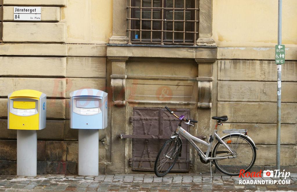 Les vélos sans antivol à Stockholm