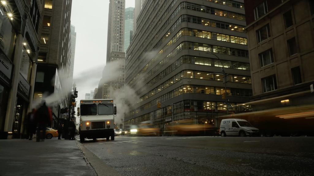 L'hiver à Manhattan