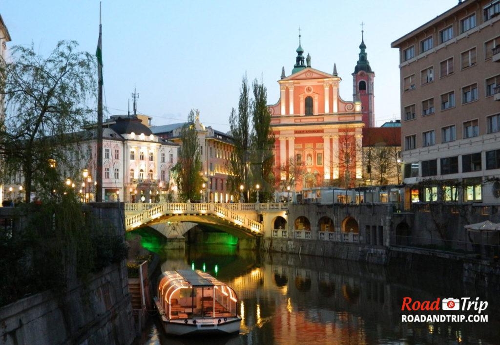 Ljubljana en Slovénie