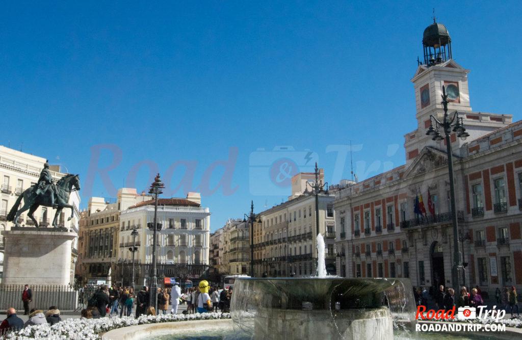 Madrid et la Puerta del Sol
