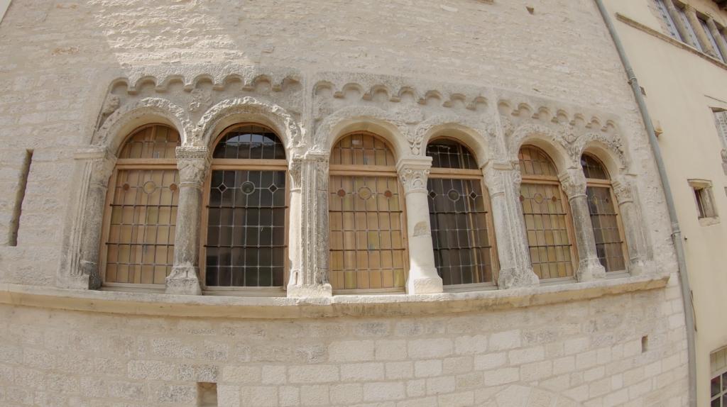 Maison romaine à Cluny en Saône-et-Loire