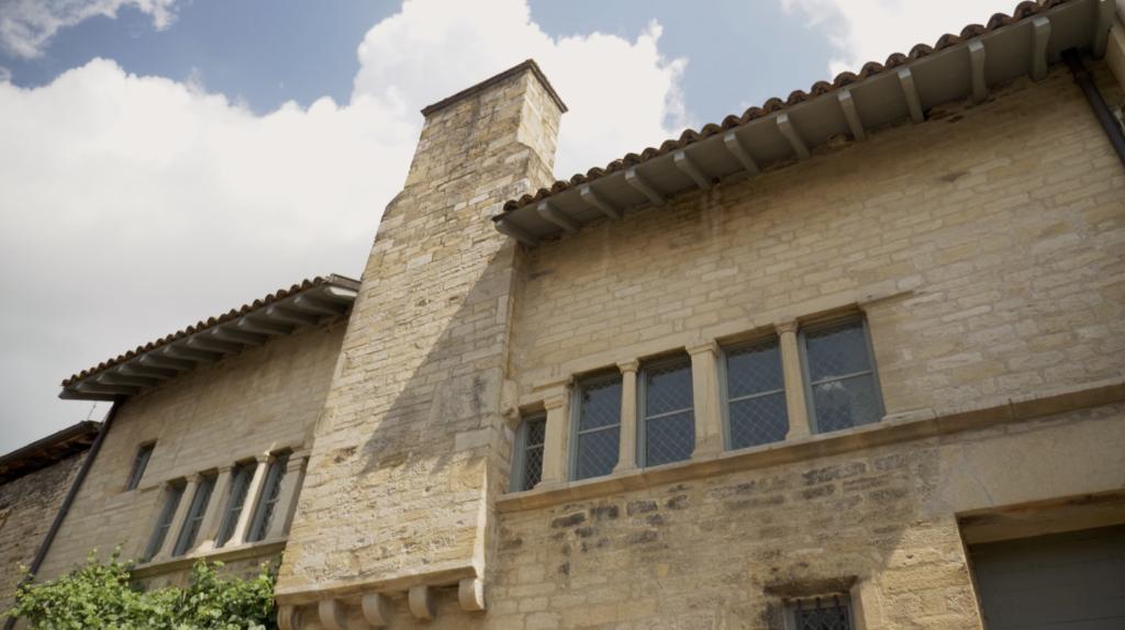 Maison romane à Cluny en Bourgogne