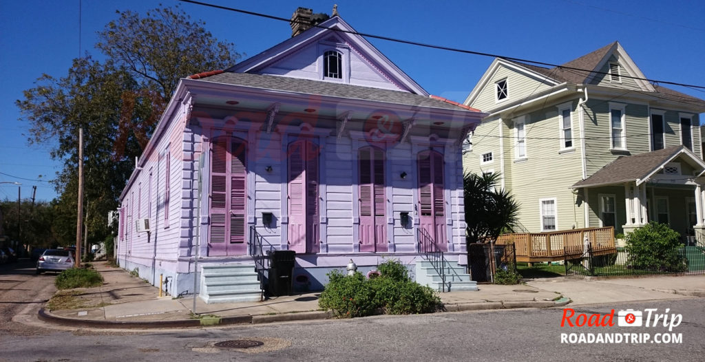 Maison typique en Louisane