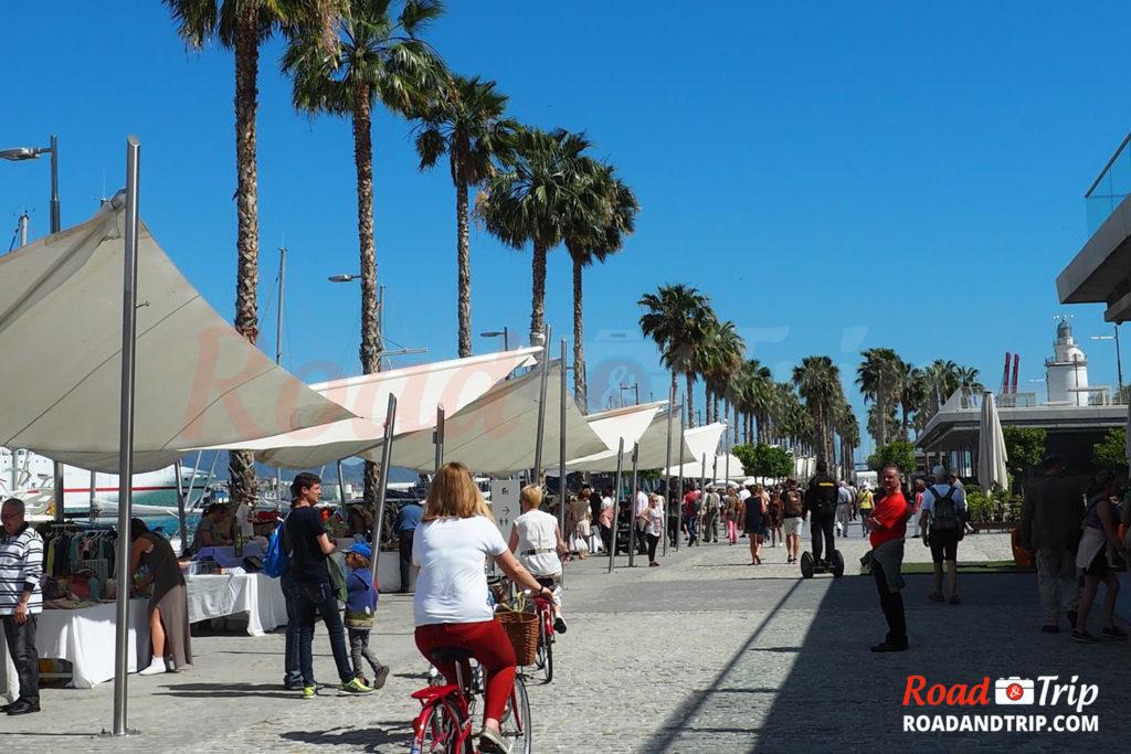 Marché aux puces de Málaga