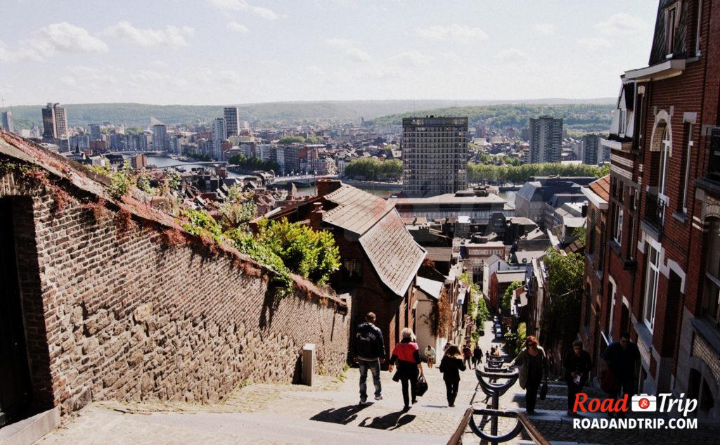 Montagne Bueren à Liège