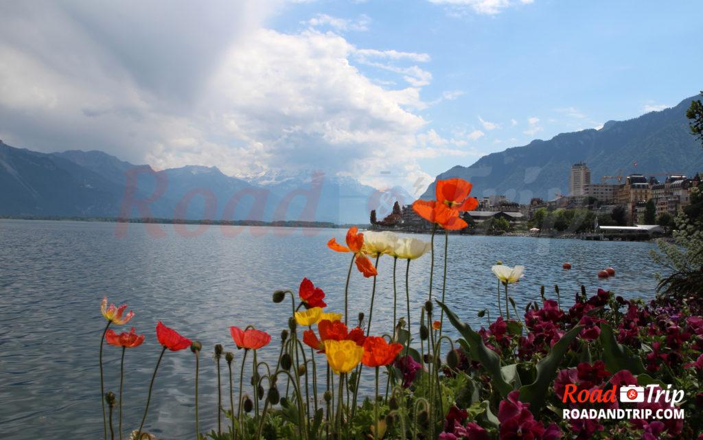 Montreux au bord du lac Léman