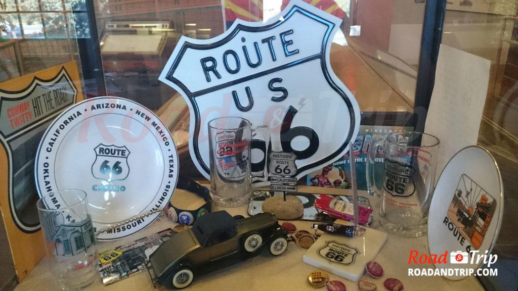 Objets du musée Route 66