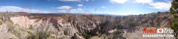 Panorama à Tent Rocks