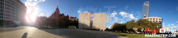 Panorama John F. Kennedy Memorial Plaza