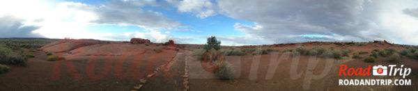Panorama Wukoki Pueblo