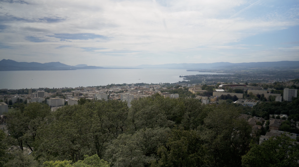 Panorama depuis le Bois de Sauvabelin