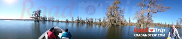 Panorama du bayou