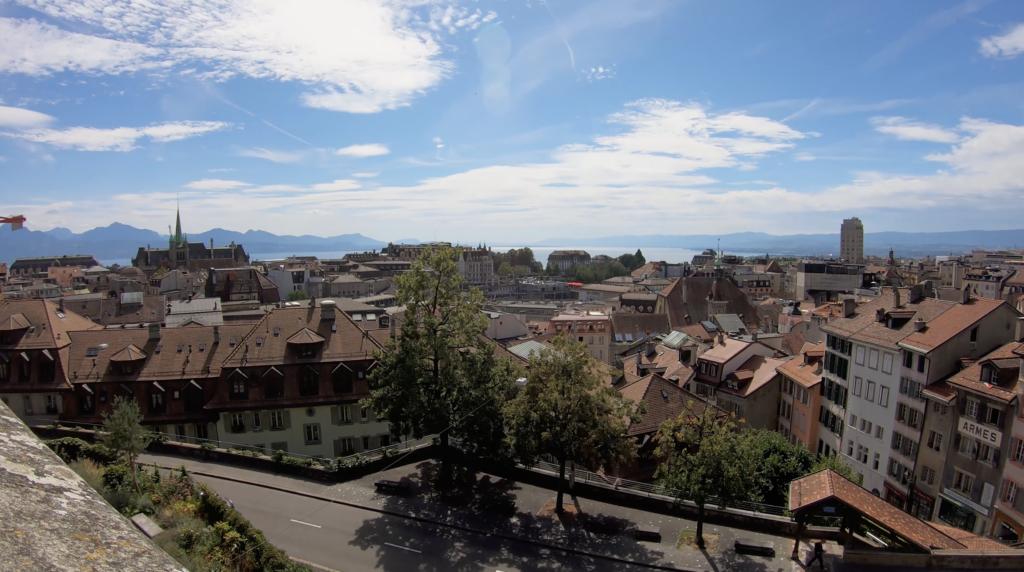 Panorama sur Lausanne