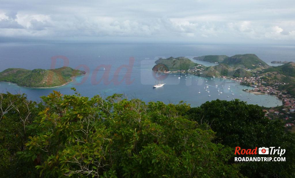 Panorama sur l'archipel des Saintes