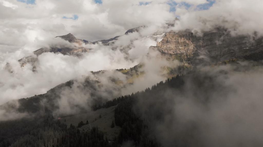 Panorama sur le Glacier des Diablerets